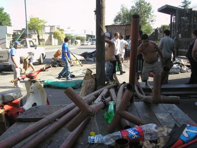 cobertura del conflicto de  Lavadero Virasoro