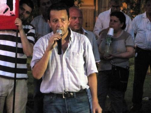 Carlos Del Frade, impulsor de la convocatoria. Foto: Indymedia Rosario
