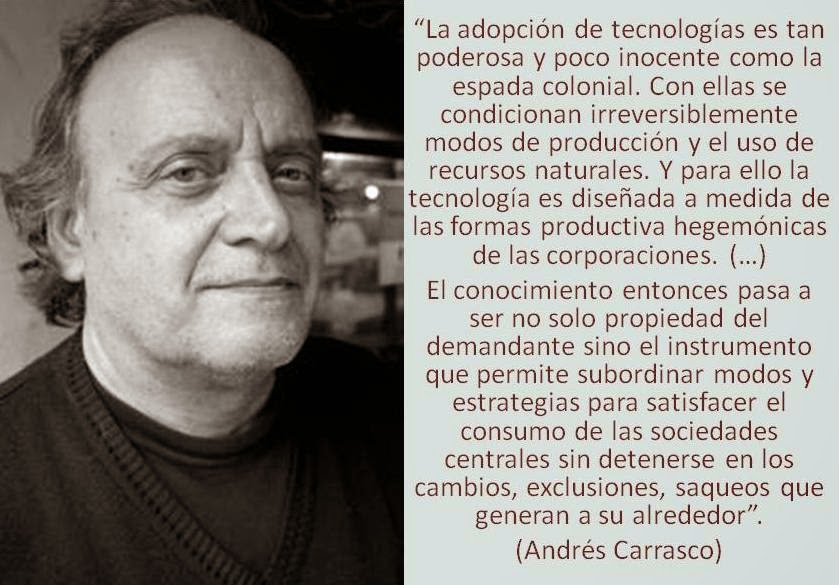 Andrés Carrasco frase