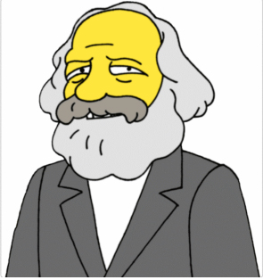 Marx según Matt Groening