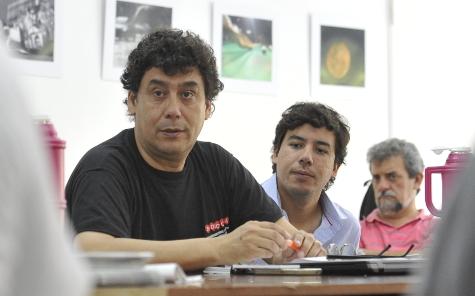 Julio Delgado, presidente de Fadiccra, en el SPR. Foto: Andrés Macera.