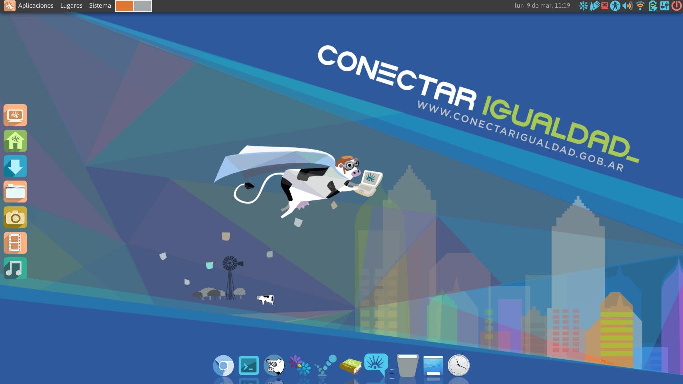 escritorio-linux-huayra